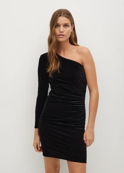 MANGO Kleid 'Asivel7' in schwarz, Modelansicht
