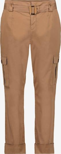 Pantaloni cu buzunare monari pe maro cămilă, Vizualizare produs