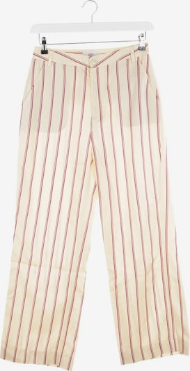Closed Hose in S in creme / pink, Produktansicht