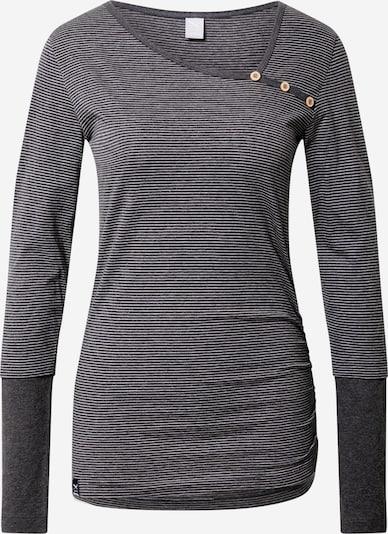 Iriedaily Shirt in dunkelgrau / weiß, Produktansicht