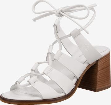 JOLANA & FENENA Sandalette in Weiß