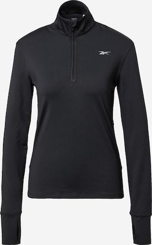 Reebok Sport Athletic Sweatshirt in Black