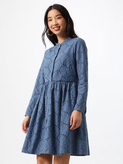 Y.A.S Košeľové šaty 'BIM' - dymovo modrá, Model/-ka