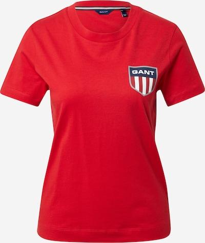 Tricou GANT pe roșu, Vizualizare produs