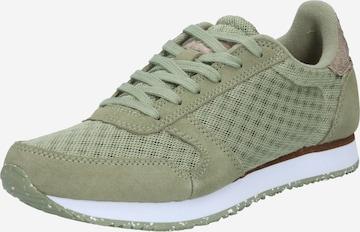 WODEN Sneakers 'Ydun Suede Mesh II' in Green