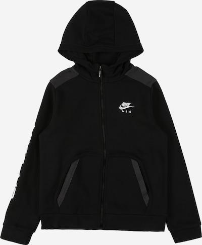 Nike Sportswear Суичъри с качулка в антрацитно черно / черно / бяло, Преглед на продукта