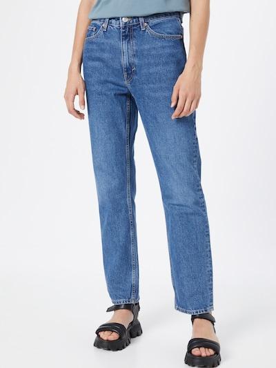 WEEKDAY Jeans 'Voyage' in blue denim, Modelansicht