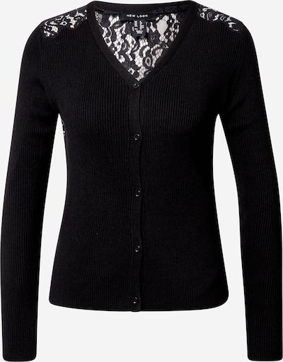 NEW LOOK Strickjacke in schwarz, Produktansicht