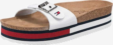 Tommy Jeans Pantolette in Weiß