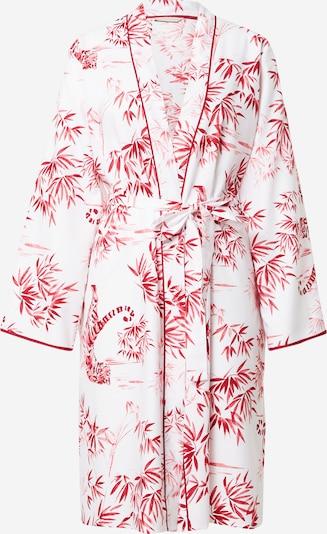 Cyberjammies Robe de chambre 'Kristen' en rose foncé / blanc, Vue avec produit
