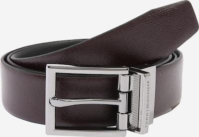 TOMMY HILFIGER Opasky - burgundská / čierna, Produkt