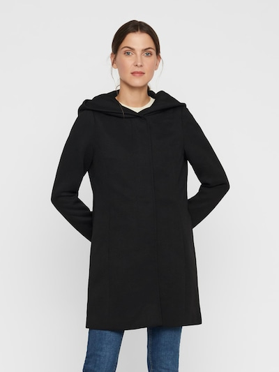 VERO MODA Between-seasons coat in Black, View model