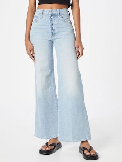 MOTHER Jeans in hellblau, Modelansicht