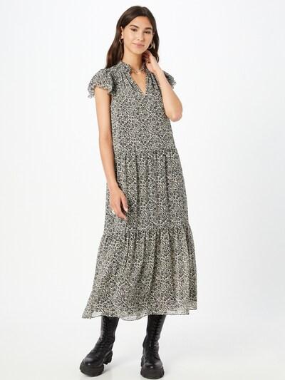 Whistles Kleid in beige / schwarz, Modelansicht