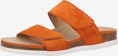 ARA Pantolette in orange, Produktansicht