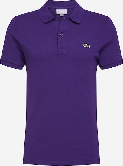 LACOSTE T-Shirt en vert clair / violet foncé / blanc, Vue avec produit