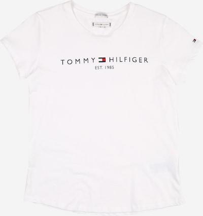 TOMMY HILFIGER Majica 'ESSENTIAL' u mornarsko plava / crvena / bijela, Pregled proizvoda