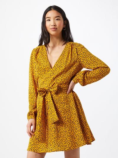 GLAMOROUS Kleid in senf / schwarz, Modelansicht