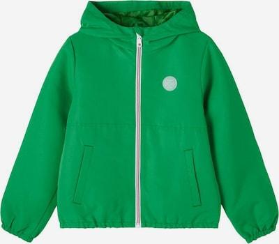 NAME IT Chaqueta de entretiempo en ópalo / verde hierba / blanco, Vista del producto