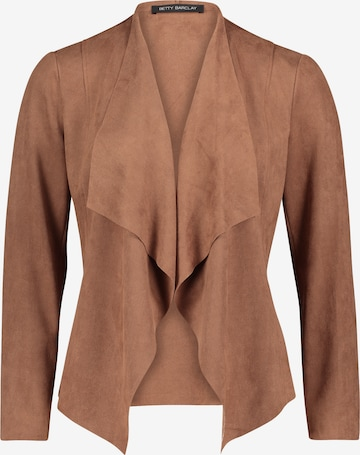 Betty Barclay Casual-Jacke ohne Verschluss in Braun