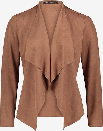 Betty Barclay Casual-Jacke ohne Verschluss in braun, Produktansicht