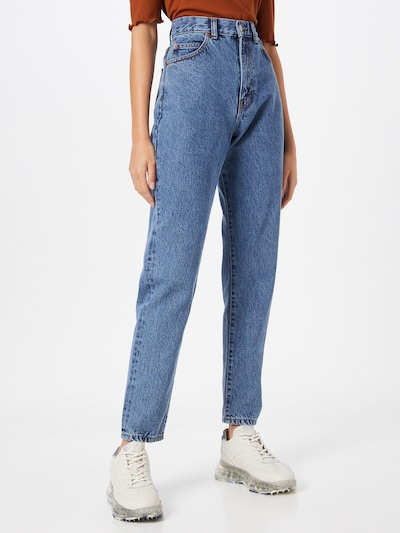 Dr. Denim Jeans 'Nora' in Blue denim: Frontal view