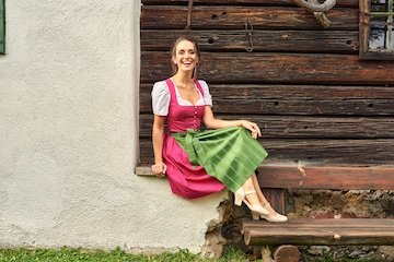 LOVE NATURE Dirndl in Mixed colors