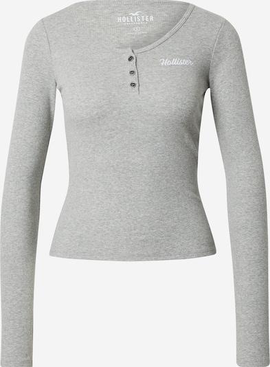 Maglietta HOLLISTER di colore grigio sfumato / bianco, Visualizzazione prodotti