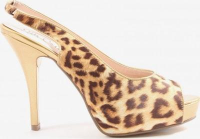 Ella Cruz High Heel Sandaletten in 39 in creme / braun, Produktansicht