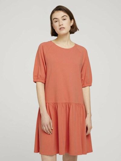 Rochie TOM TAILOR DENIM pe roșu pepene, Vizualizare model