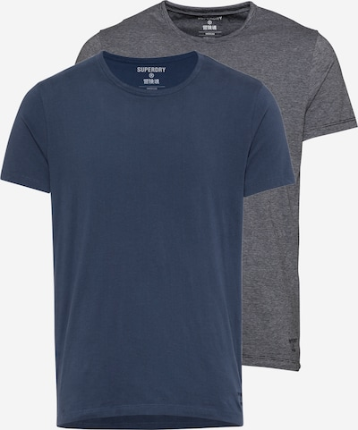 Tricou 'SDRY LAUNDRY SLIM TEE 2 PACK' Superdry pe bleumarin / gri, Vizualizare produs