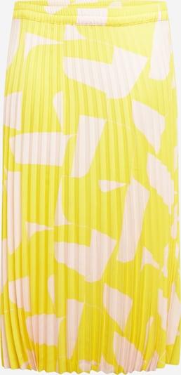 Selected Femme Curve Rok 'SLFLEXIS' in de kleur Geel / Rosé, Productweergave
