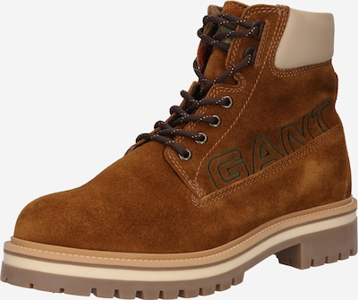 GANT Lace-up boots in Brown / Cappuccino / Black, Item view