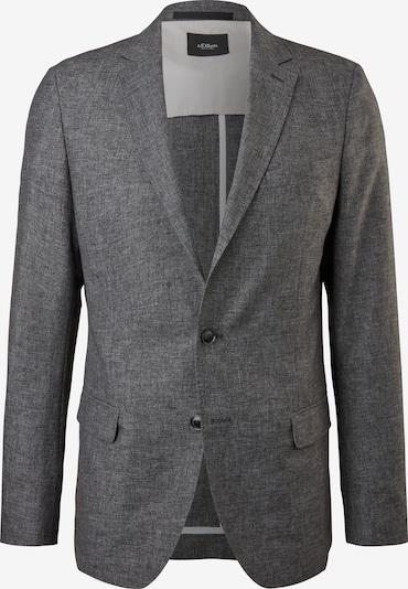 s.Oliver BLACK LABEL Veste de costume en gris chiné, Vue avec produit