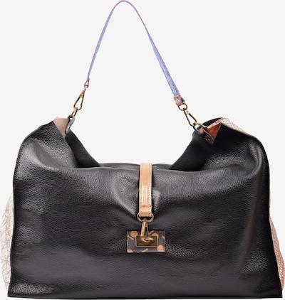 ebarrito Shopper 'SPIN THE WHEEL BAG' in gold / schwarz, Produktansicht