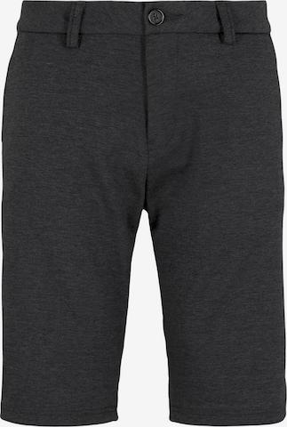 TOM TAILOR Shorts in Schwarz