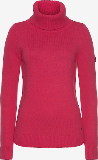 KangaROOS Pullover in braun / fuchsia / schwarz, Produktansicht