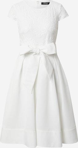 Lauren Ralph Lauren Sukienka koktajlowa 'ZIARAH' w kolorze biały