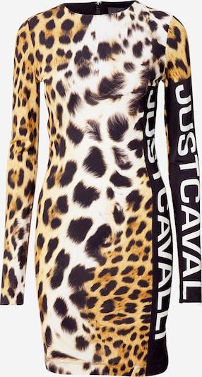 Just Cavalli Jurk in de kleur Beige / Gemengde kleuren, Productweergave