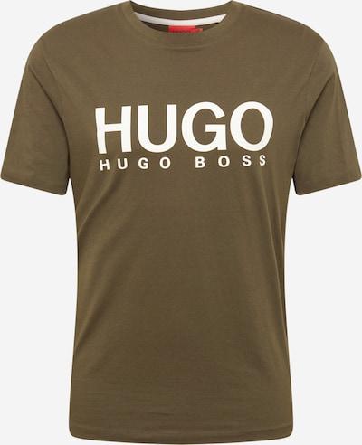 Maglietta 'Dolive 212' HUGO di colore oliva / bianco, Visualizzazione prodotti