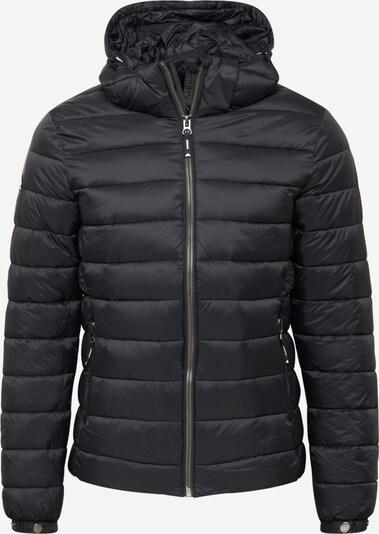 Superdry Jacke 'FUJI' in schwarz / weiß, Produktansicht