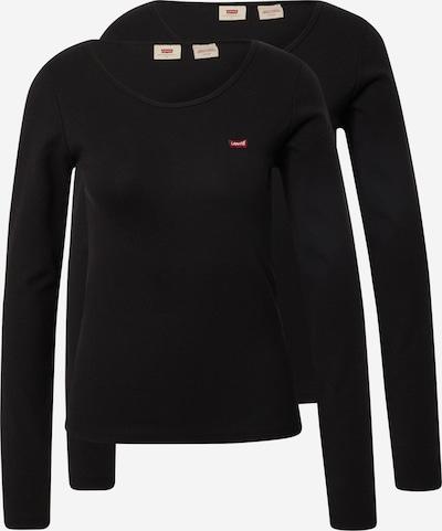 LEVI'S Tričko - červená / černá, Produkt