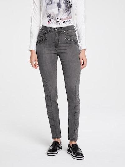 heine Jeans in de kleur Grijs: Vooraanzicht