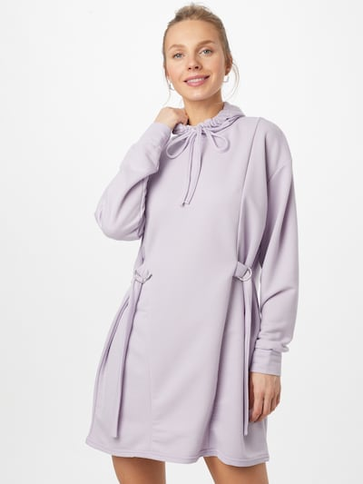 Missguided Kleid in lila, Modelansicht