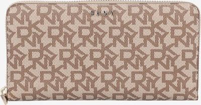 DKNY Porte-monnaies 'Bryant' en marron / cappuccino, Vue avec produit