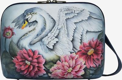 ANUSCHKA Umhängetasche 'Swan Song' aus handbemaltem Leder in mischfarben, Produktansicht