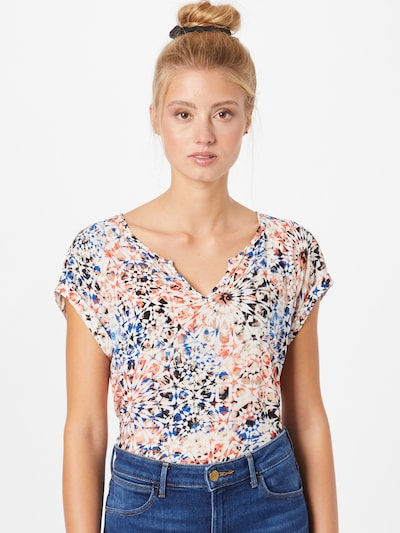 GERRY WEBER Blouse in Blue / Red / Black / White, View model