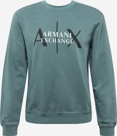 Felpa ARMANI EXCHANGE di colore blu colomba / nero / bianco, Visualizzazione prodotti