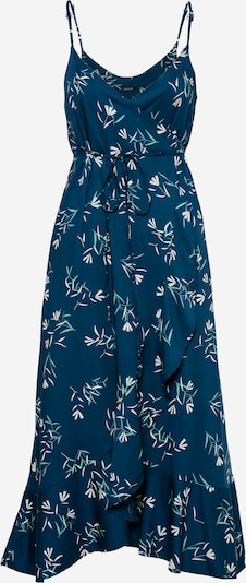 GREENBOMB Kleid 'Spring Party' in türkis / pastellblau / weiß, Produktansicht