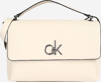 Rankinė su ilgu dirželiu iš Calvin Klein , spalva - natūrali balta, Prekių apžvalga